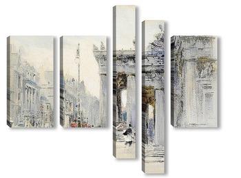 Модульная картина Эдинбург, АСР Галереи, Принцесс-стрит