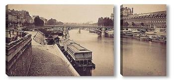 Модульная картина Мост Каррузель