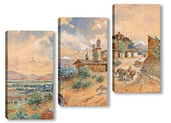Модульная картина Мексика, 1903