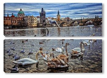 Модульная картина Прага(Чехия)