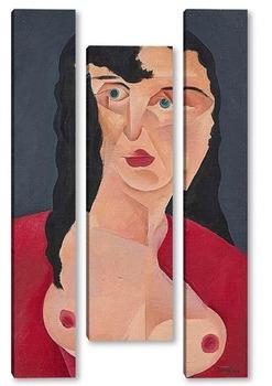 Модульная картина Портрет женщины