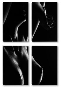 эротический силуэт