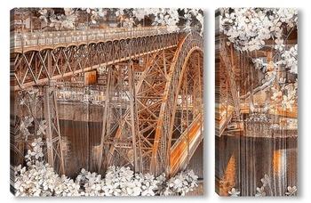 Модульная картина мост Понти-ди-Дон-Луиш I