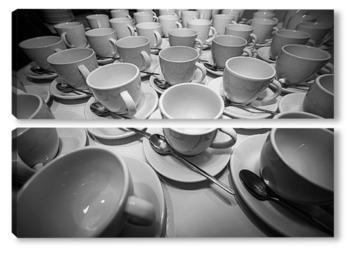 Модульная картина Кофейные чашки