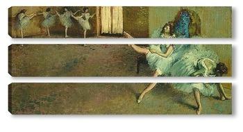 Модульная картина Перед выступлением балета
