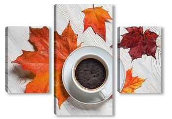 Модульная картина Осеннее утро