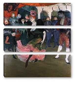 Модульная картина Toulouse-Lautrec-3