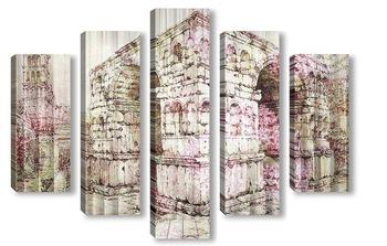 Модульная картина Арка Януса. Рим