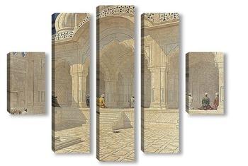 Модульная картина Мечеть Перл в Дели, 1876-1879