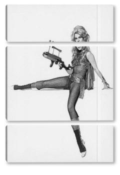 Модульная картина Jane Fonda-7