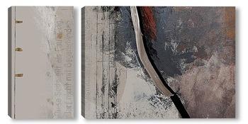 Модульная картина Абстракция 02