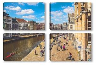 Модульная картина Брюгге