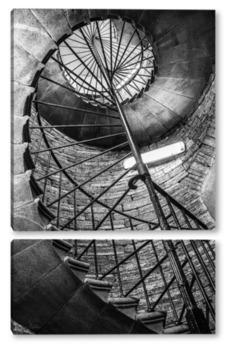 Модульная картина Лестница в небо