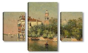 Модульная картина Общественный парк, Венеция