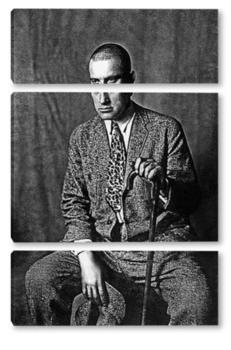 Модульная картина Маяковский Владимир