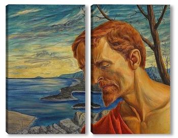 Модульная картина Иоанн Креститель