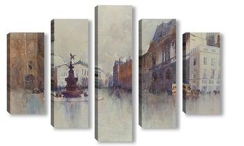 Модульная картина Площадь Пикадилли