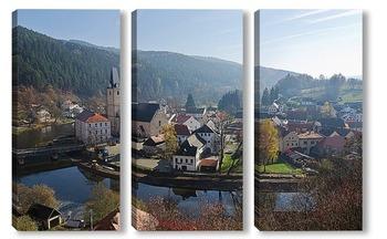 Модульная картина Чехия