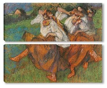Модульная картина Русские танцовщицы, 1899