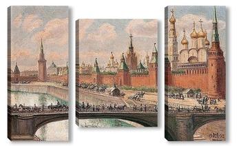 Модульная картина Москва
