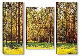 Модульная картина В лесу