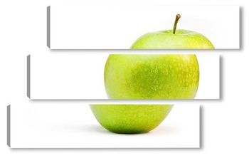 Модульная картина яблоко