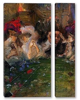 Модульная картина Рулетка, 1910