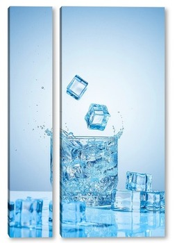 Модульная картина Чистая вода