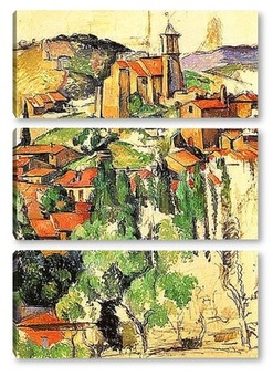 Модульная картина Cezanne024