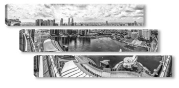 Модульная картина Marina Bay