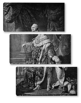 Модульная картина Луи XV