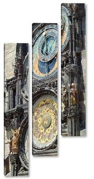 Модульная картина Городские часы в Праге