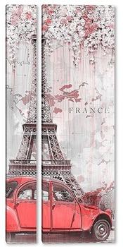 Модульная картина Романтика Парижа