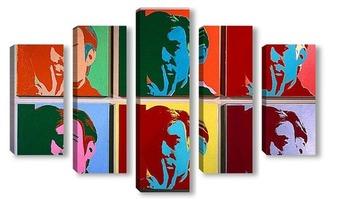 Модульная картина Andy Warhol-7