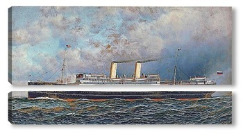 Модульная картина Русский лайнер