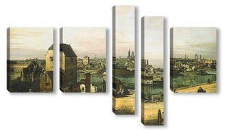 Модульная картина Вид Мюнхена
