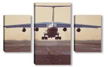 Модульная картина Посадка