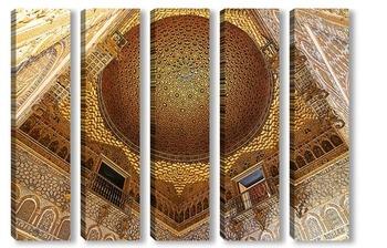 Модульная картина Роскошь сводов Алькасара