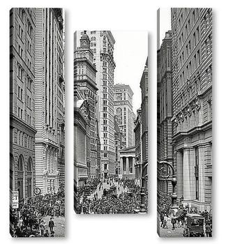Модульная картина Брод-стрит