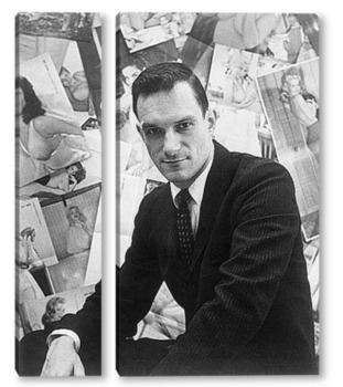 Модульная картина Hugh Hefner
