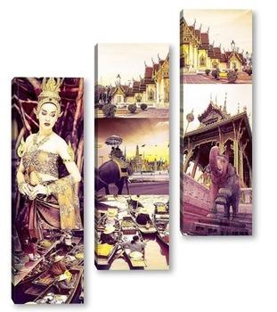 Модульная картина Неповторимый Таиланд