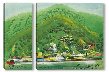 Модульная картина Бразилия. 1936