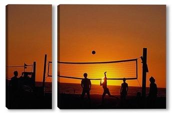 Модульная картина Volleyball004