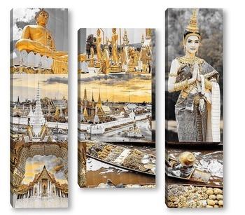 Модульная картина Бангкок. Таиланд