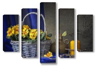 Модульная картина Весенний натюрморт