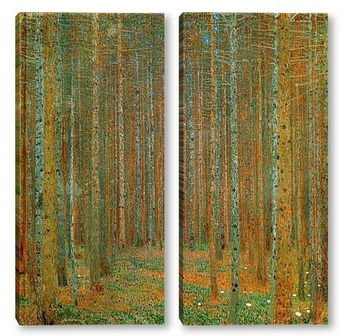 Модульная картина Сосновый лес (1902)