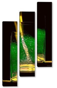 Модульная картина Волшебный коктейль
