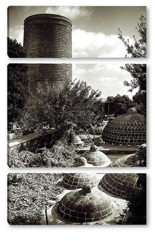 Модульная картина Девичья Башня