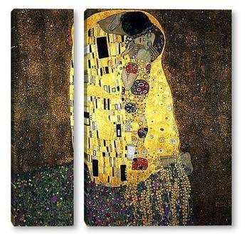 Модульная картина Поцелуй. 1908