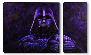 Модульная картина Darth Vader